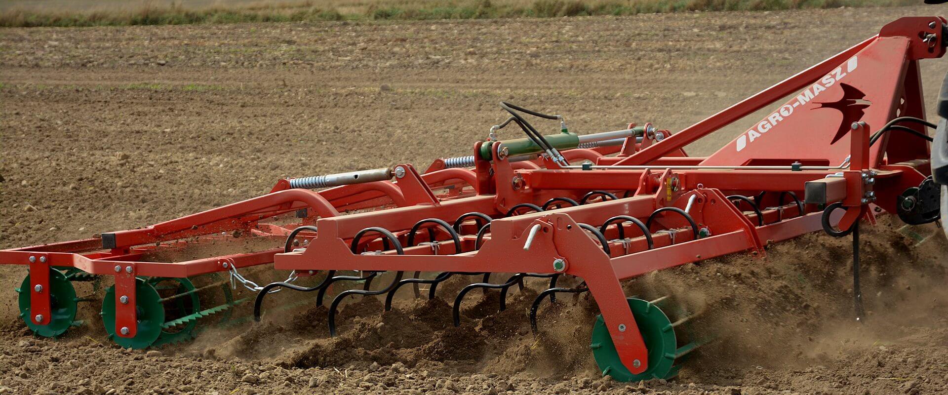 Культиватор предпосевной тяжелый AGRO-MASZ