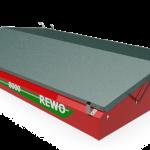 Разбрасыватель минеральных удобрений и извести REWO
