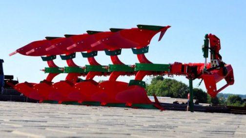Плуг POVR оборотный VARIO с рессорной защитой
